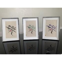 AMELIA - Framed embroidery